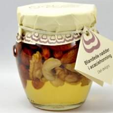 salg af Acaciehonning med nøddemix