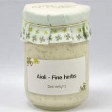 salg af Aioli m. middelhavs krydderurter