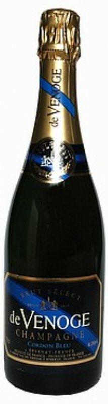salg af de Venoge Champagne, Cordon Bleu Brut N.V. - 1/2 flaske
