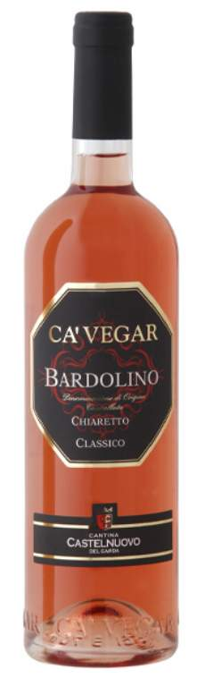 salg af Ga'Vegar, Bardolino Chiaretto Classico D.O.C.