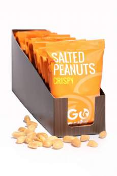 salg af GoNuts - saltede peanuts