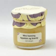 salg af Mini honning m. appelsin og brandy