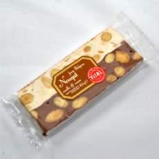 salg af Nougatbar - halv hvid/halv chokolade