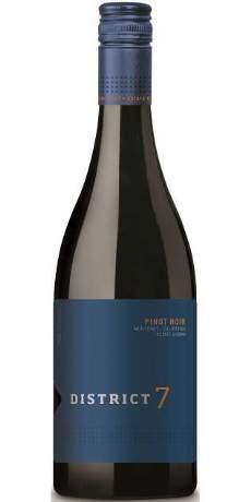 salg af Scheid Family Wine, District 7 Pinot Noir, Monterey