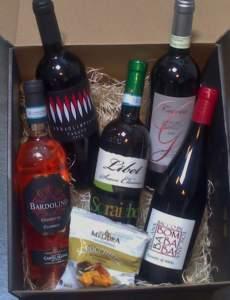 salg af SMAGEKASSE Forår 2017 - Italienske vine
