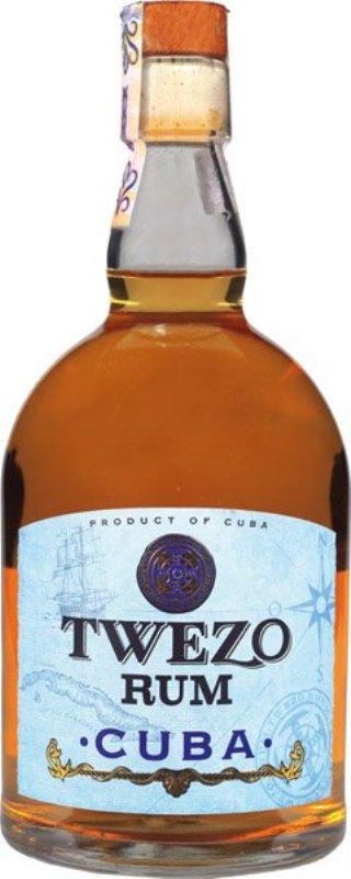 salg af Twezo Rum - Cuba